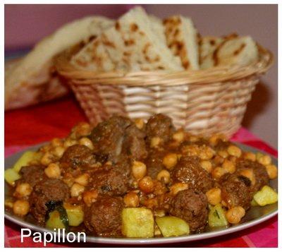 Tajine aux boulettes de viande  Recettes Africaines