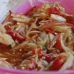 salade de papaye verte Som Tam - cuisine thaï © par Fanny GRW - Recettes d'ici et d'ailleurs (2)