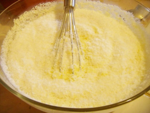 Appareil du Flan antillais au coco après cuisson - Cuisine antillaise © par Fanny GRW - Recettes d'ici et d'ailleurs