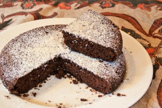 Moelleux au chocolat et coco au tofu soyeux - Recette sans gluten et sans lactose © Balico & co