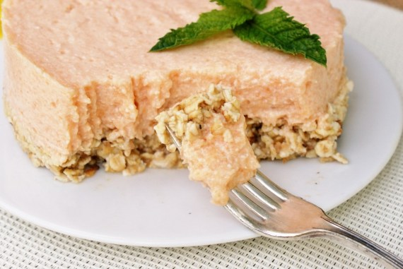 Entremet à la mousse de melon au tofu soyeux © Balico & co
