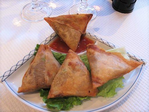 Samoussas mauriciens - Cuisine de l'île Maurice