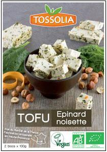 Tofu Tossalia épinard noisette