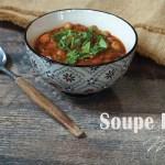 Soupe marocaine Harira - © Blog de recettes Balico and co