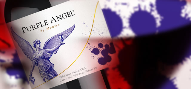 PURPLE ANGEL Carmenère de Montes