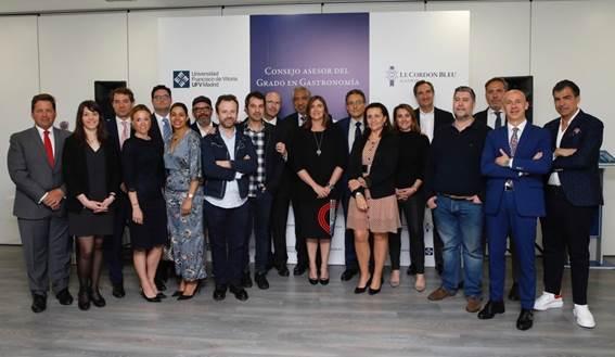 Casi un centenar de 'estrellas' forman el Consejo asesor del Grado en Gastronomía de la Universidad Francisco de Vitoria