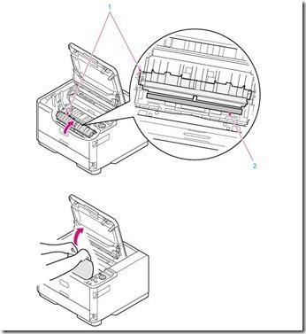 Comment résoudre un bourrage papier sur une imprimante OKI