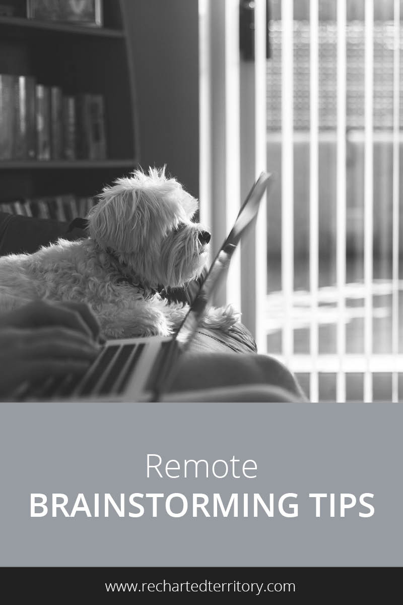Remote brainstorming tips