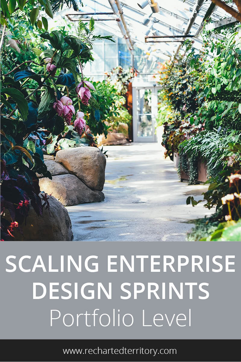 Scaling Enterprise Design Sprints: Portfolio Level