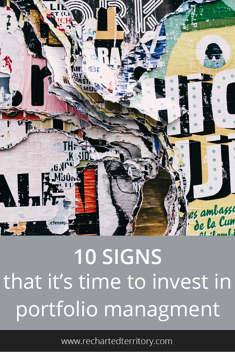 10 signs it's time to invest in portfolio management