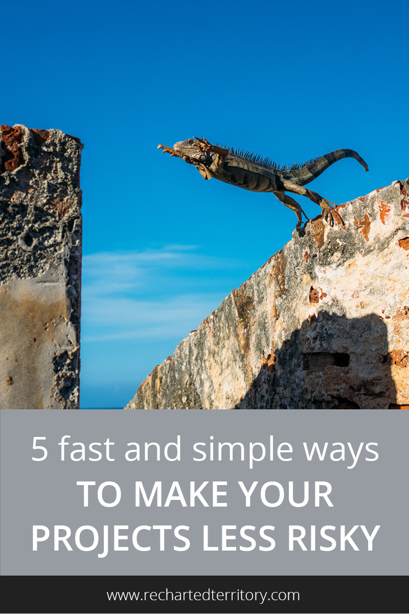 5 fast and simple ways to make your projects less risky