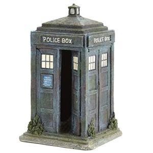 Pet Ting Doctor Who Police Box Décoration pour Aquarium Grand Format 26 cm