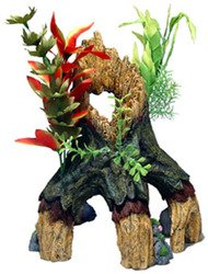 Resin Ornament – Large Floral Mangrove Tree Trunk