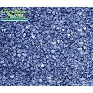 Frost Premium d'eau douce Aquarium Substrat–18,1kilogram [Lot de 8] Couleur: Deep Blue Frost