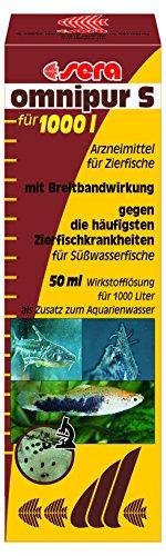 SERA Omnipur Conditionneur d'Eau pour Aquariophilie 50 ml