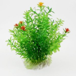 Water & Wood 4.7″ Height Green Aquarium Landscape Emulational Aquatic Water Plant Decoration