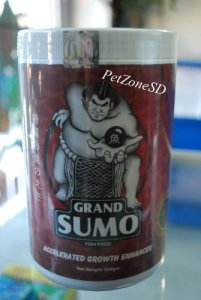 Grand Sumo Accelerated Growth Enhancer – Flowerhorn Cichlid Fish Food 550g by Grand Sumo