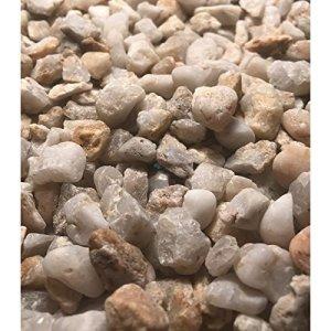 Gravier décoratif Quartz 8/12 blanc/beige