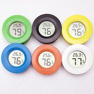 merymall Thermomètre numérique LCD Hygromètre Capteur d'humidité de la sonde de température (Couleur aléatoire)