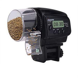 HomdMarket Alimentateur Nourrice Automatique numérique pour Les Poissons LED minuteur