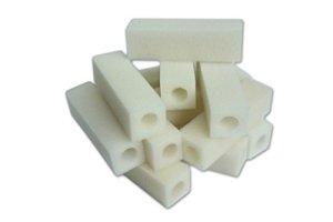 LTWHOME Compatible Cartouche Mousseux Filtration Convient Eheim 2012 Ramassage Filtres 2617120 (Paquet de 200)