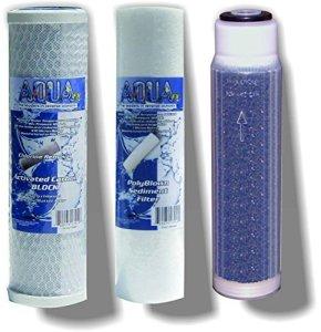 Le Aquafx Barracuda Osmose Inverse filtres de Remplacement DE 25,4cm