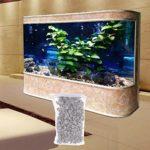 B Blesiya Filtre à Caillou Adsorption Fort et Pierres Très Fins pour Tout Type d'Aquarium