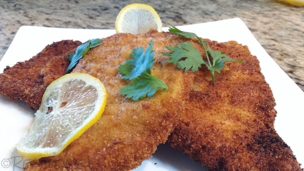 Authentic Cheap Pork Schnitzel