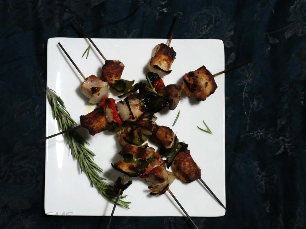 How to Make Souvlaki Step 6 Broil and serve