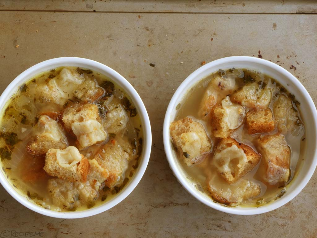 Recipe for Homemade French Onion Soup