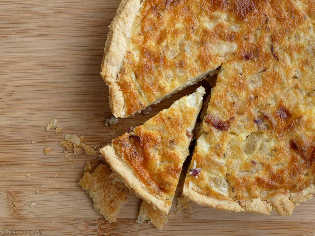 Zwiebelkuchen (German Onion Pie)