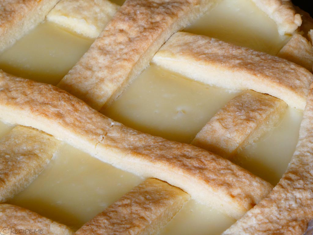 Recipe for How to make Crostata Al Limone - Italian Lemon Tart