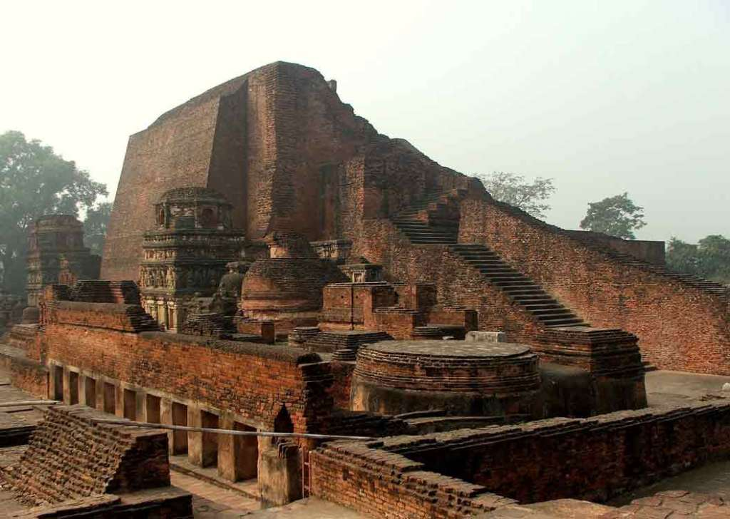 Temple at Nalanda ruins Photo Credit: Wonderlane via Compfight cc