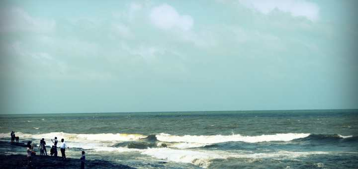 The gorgeous Bandra Bandstand