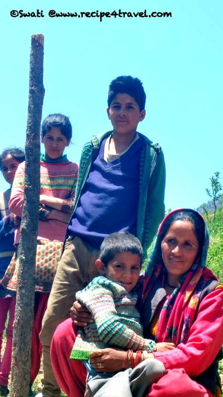 Villagers we met on the way down, happy to pose for me