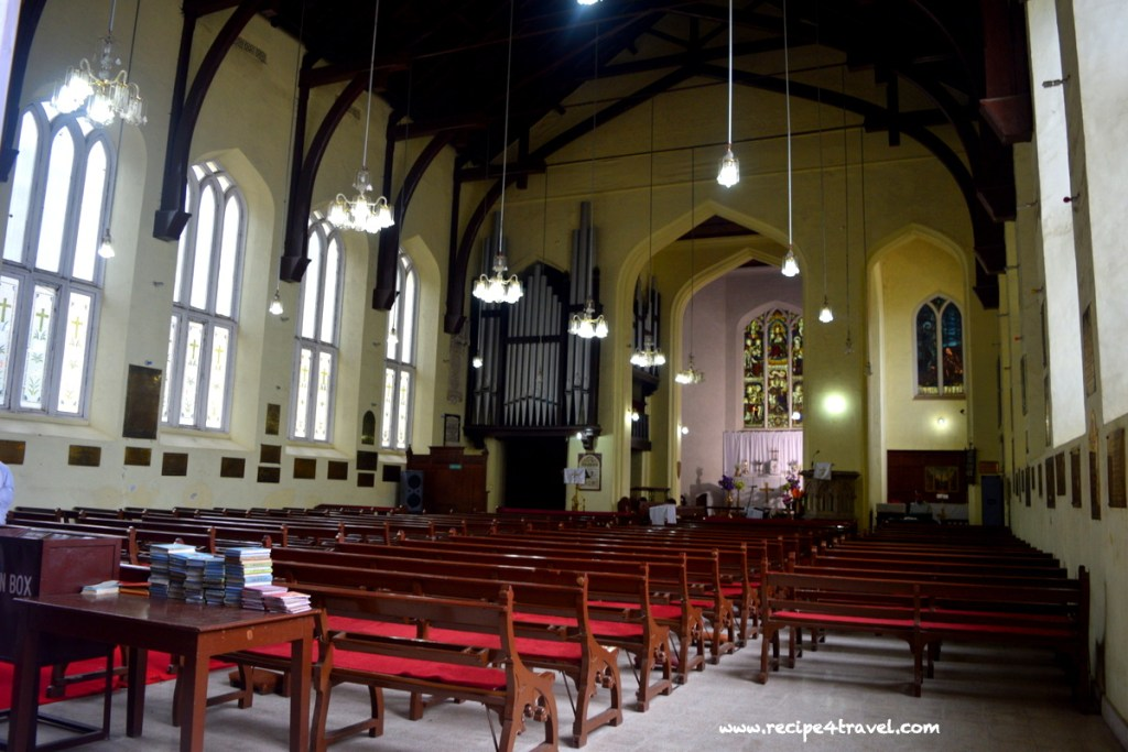 I found quiet and peace in the lovely Christ Church at the Ridge in Shimla