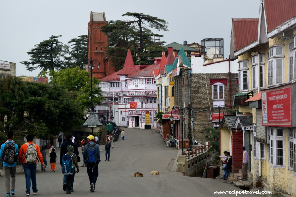 Can you spot the oldest post office in Northern India ? Yes, it is the quaint white building up ahead
