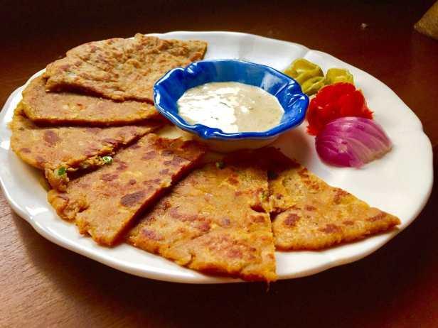 leftover dal paratha recipe