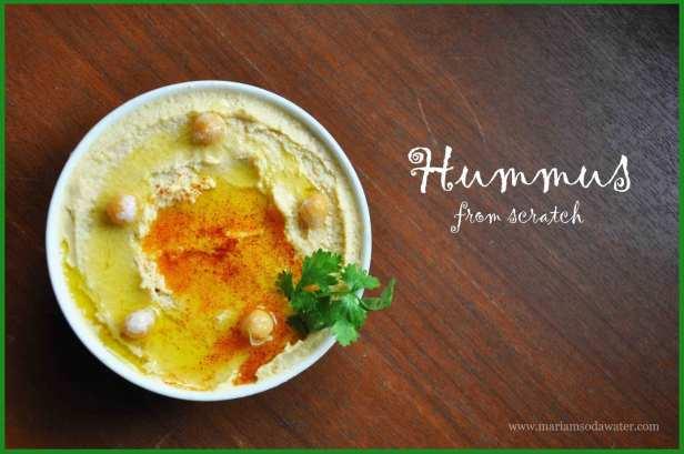 Hummus recipe without tahini