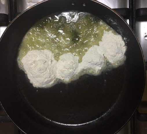 Make white sauce.