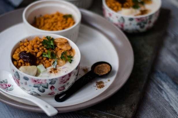 dahi phulki salad