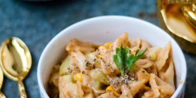 corn pasta cucumber salad recipe