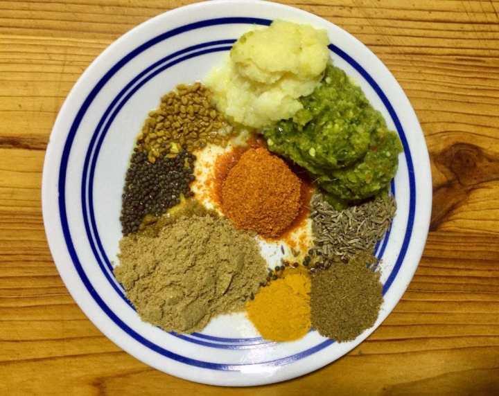 spices for vegetable biryani