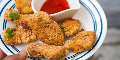 sesame chicken nuggets recipe