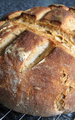 A Sortof Poem and Sourdough Rye Bread