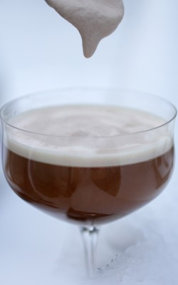 DIY Irish Coffee w/ Baileys-ish Whipped Cream