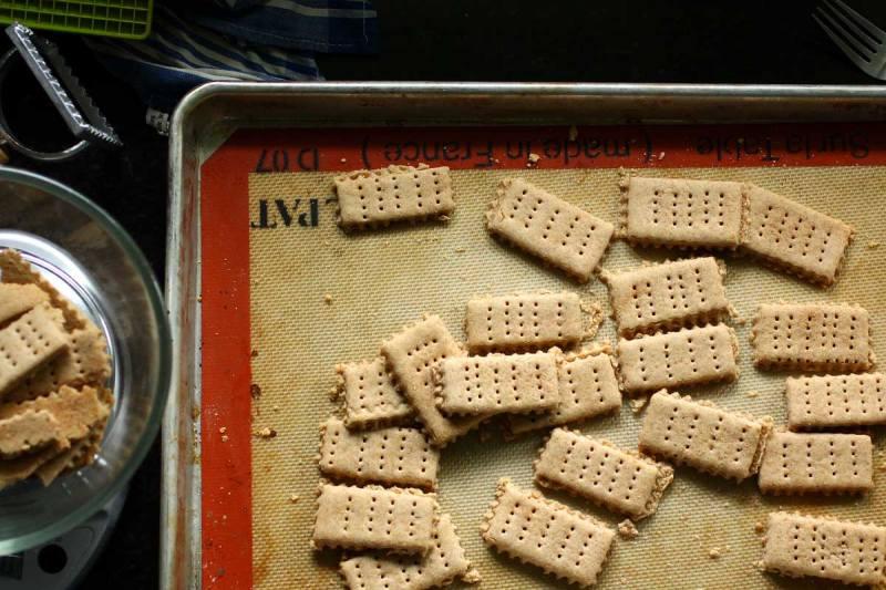 Gluten Free Honey Graham Crackers
