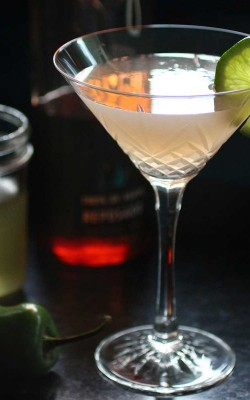 Jalapeño Lime Simple Syrup: spice up tequila or spritzers
