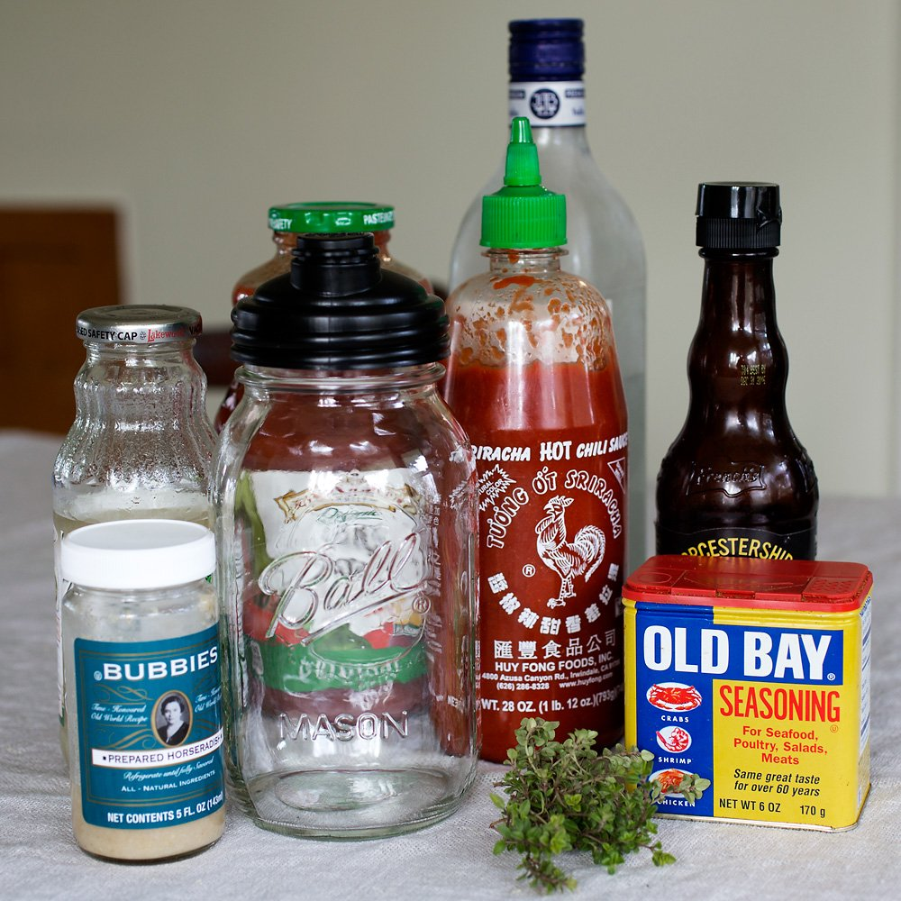 Spicy Siracha Bloody Mary Mix