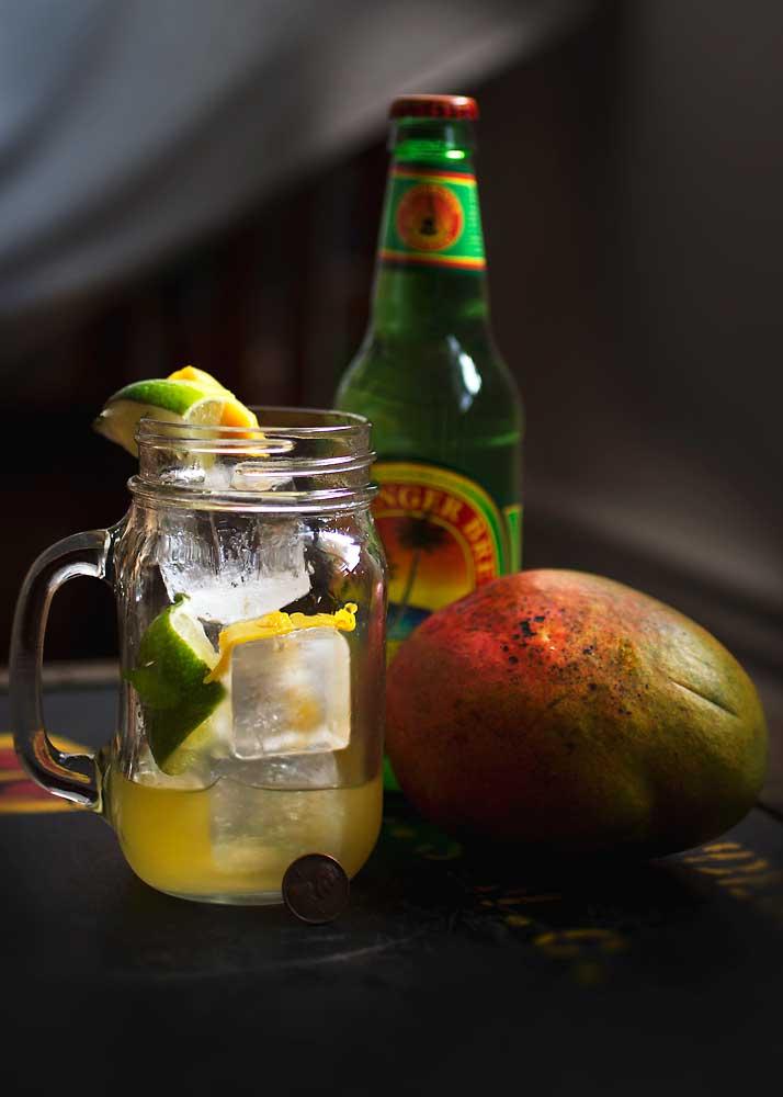 Mango Mule Cocktail|RecipeFiction